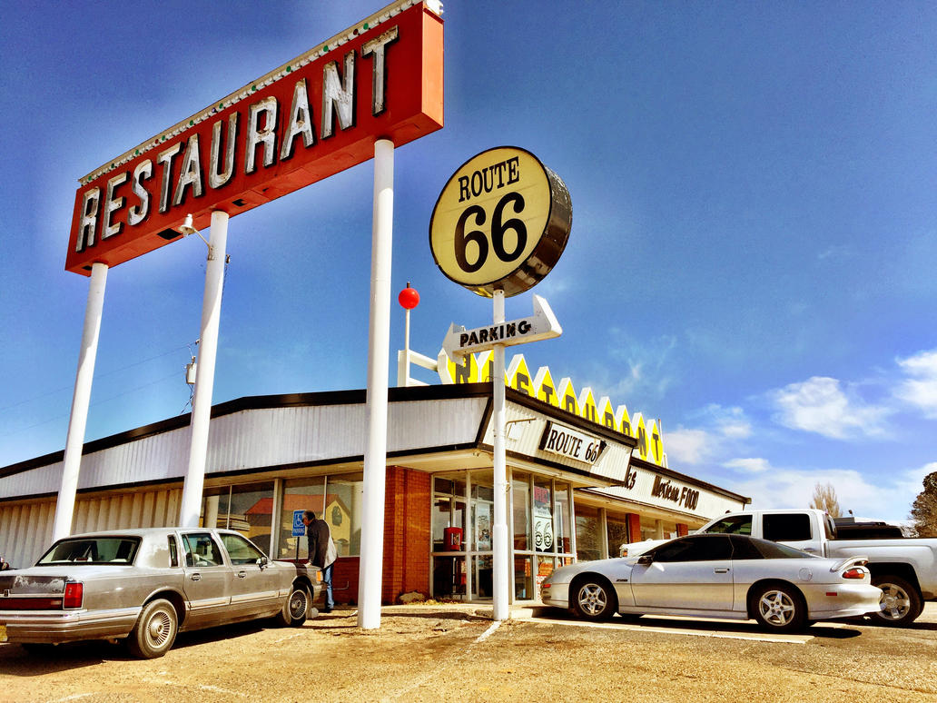 list of synonyms and antonyms of the word: route 66 restaurant