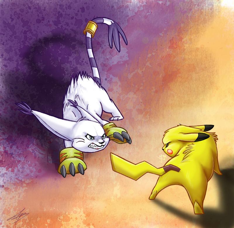 Pokemon Digimon
