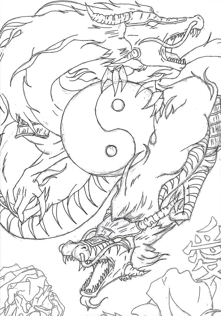 Image Result For Chinise Dragon Coloring