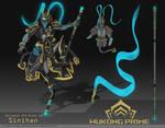 Wukong Prime Fan Concept Art   Warframe