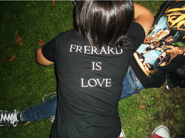 Frerad Is Love T-shirt by MySicknessRomance