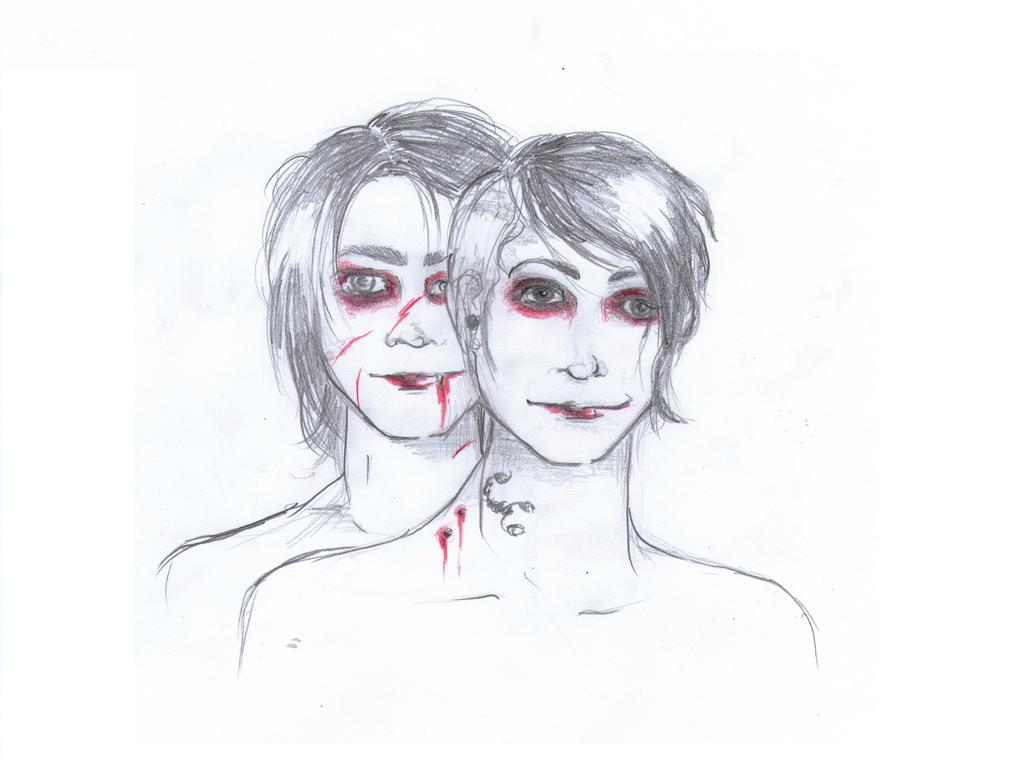 The Vampire Kiss-Frerard by MySicknessRomance on deviantART