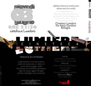 Flyer Cineteca Lumier