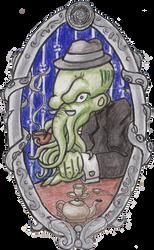 Dapper Cephalopod by sayla-renheart