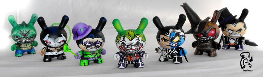 Batman Villains by FullerDesigns