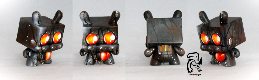 Rusty: The Robot With A Big Heart by FullerDesigns