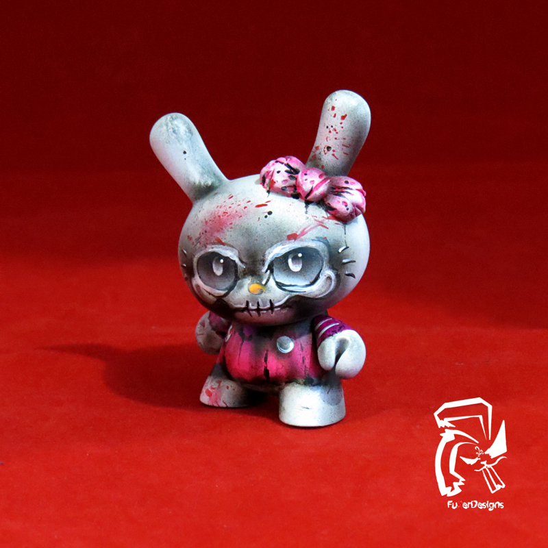 Zombie-Hello-Kitty by FullerDesigns