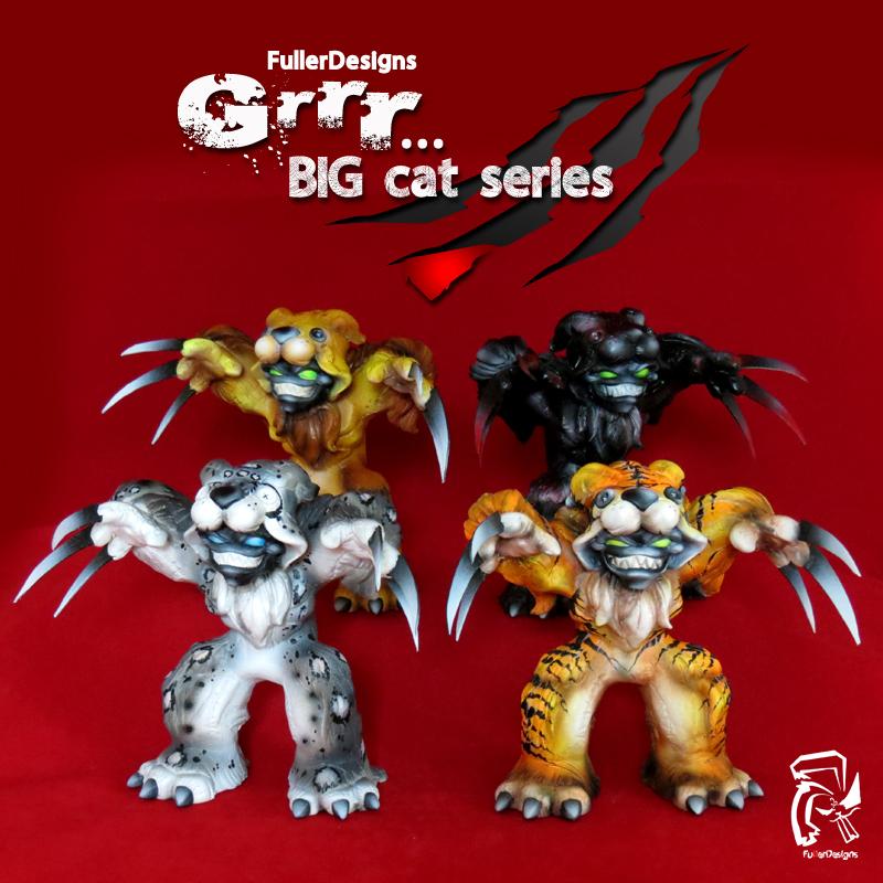 Grrr... Big Cat Series by FullerDesigns