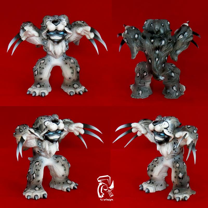 Big Cat Series Snow Leopard by FullerDesigns