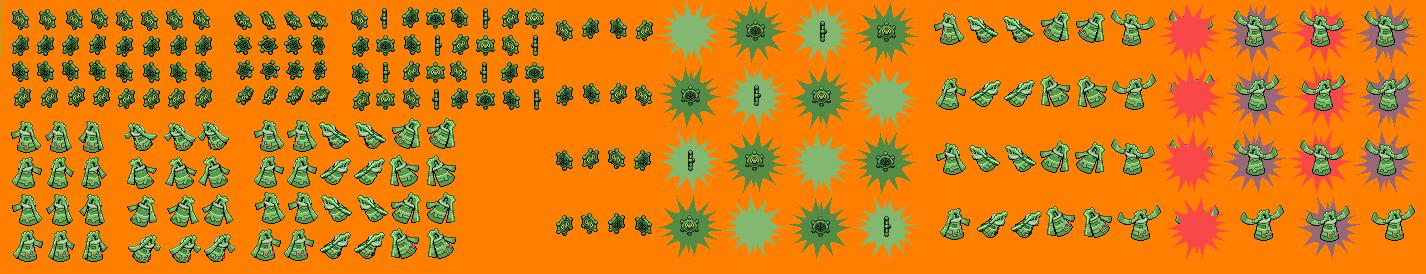 Guardian Signs: Shiny Bronzor/Bronzong by LilacCat336