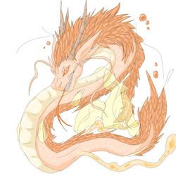 dragon or something by Kawa-draws