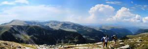 Parang Mountains Panorama