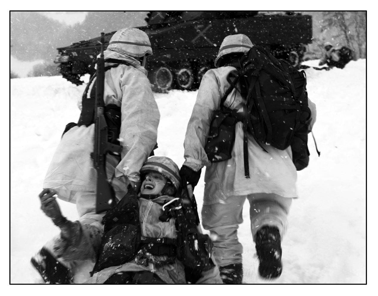 wounded still screaming by KjetilofNorway