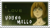 I love young mello stamp by Nekopie