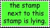 Purple Stamp by Nekopie
