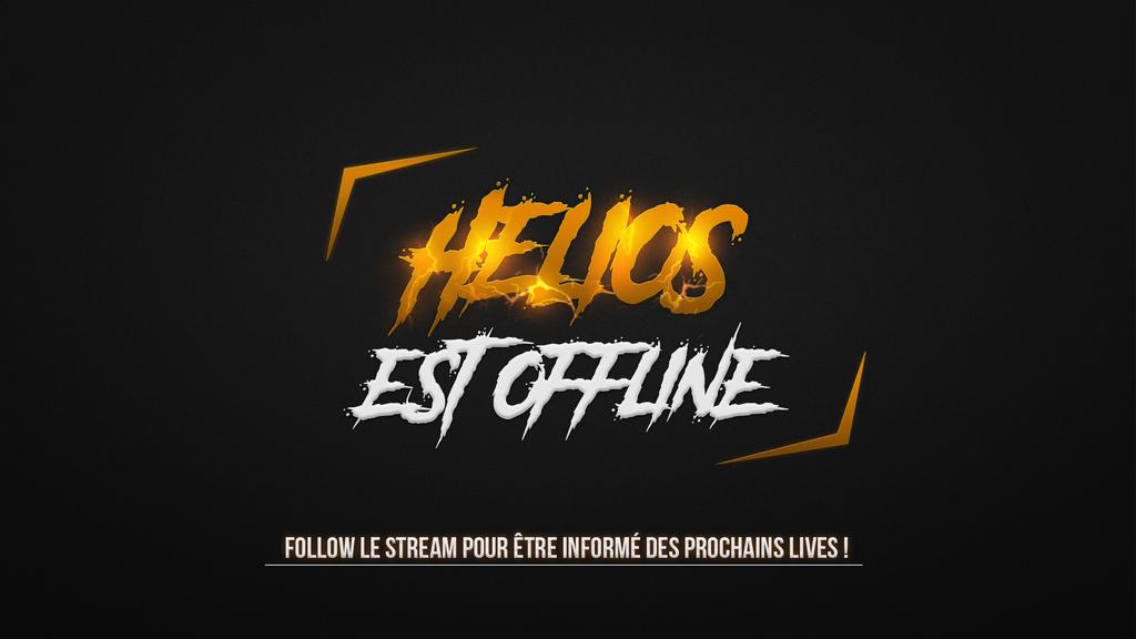 Fond offline pour le stream d'Helios by rempac