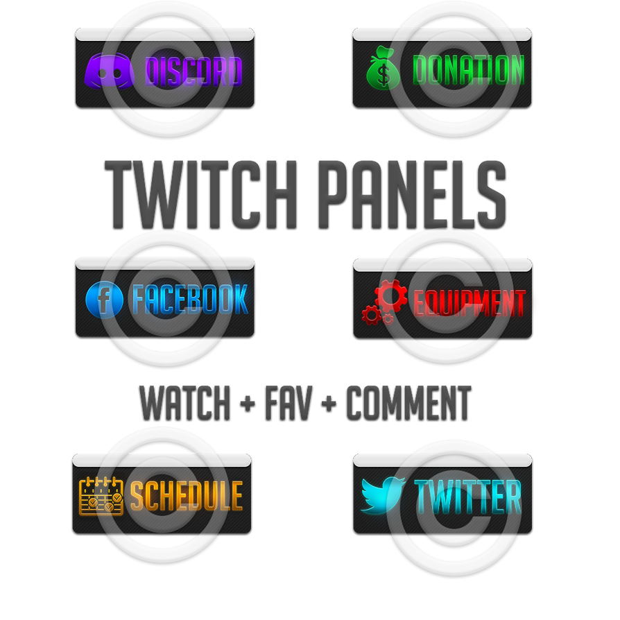 TwitchPanels by rempac