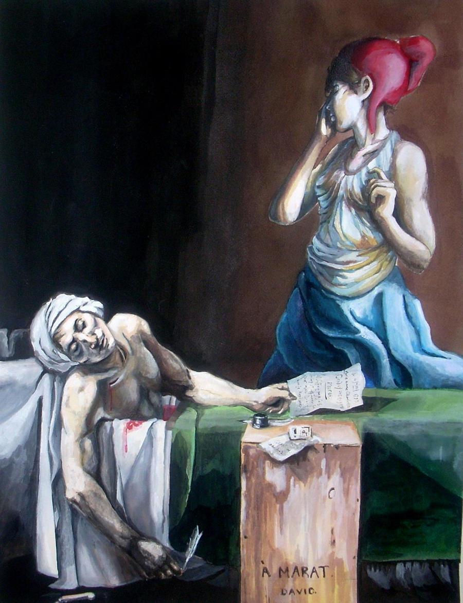 The Death of Marat by emduda on DeviantArt