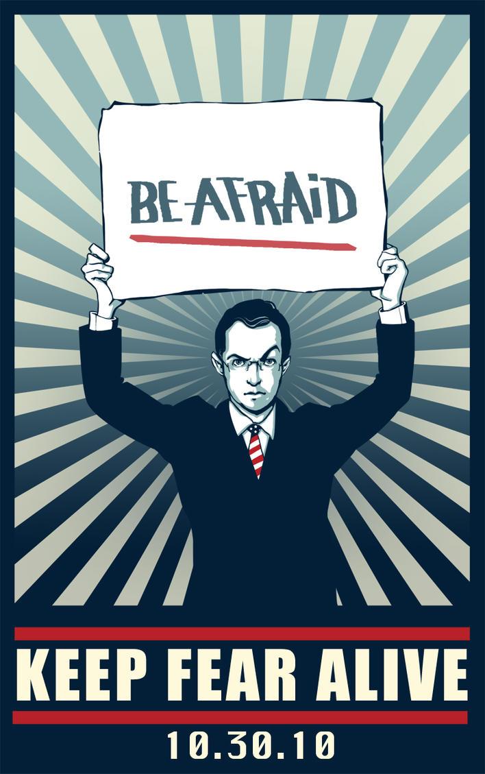 Stephen Colbert says:be afraid by ekzotik
