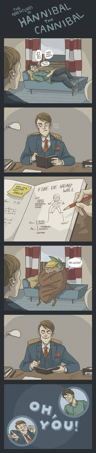 (Comic) The Adventures of Hannibal the Cannibal #1