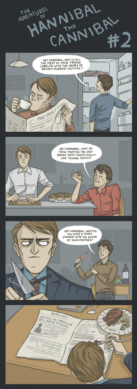 Comic) The Adventures of Hannibal the Cannibal #2 by ekzotik