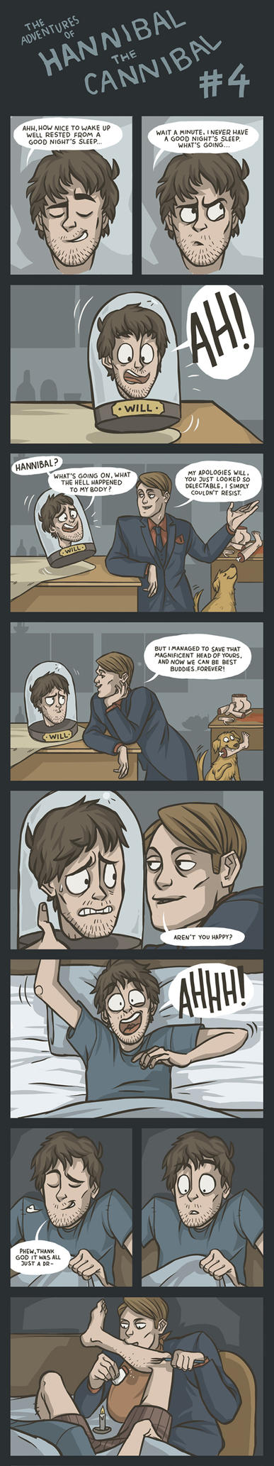 (Comic) The Adventures of Hannibal the Cannibal #4 by ekzotik