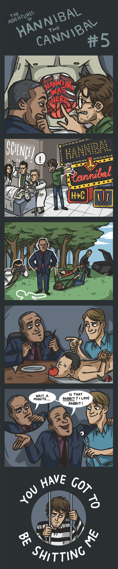 The Adventures of Hannibal the Cannibal #5 by ekzotik