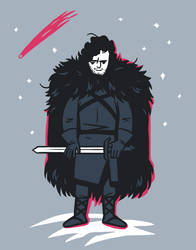 Jon Snow by ekzotik