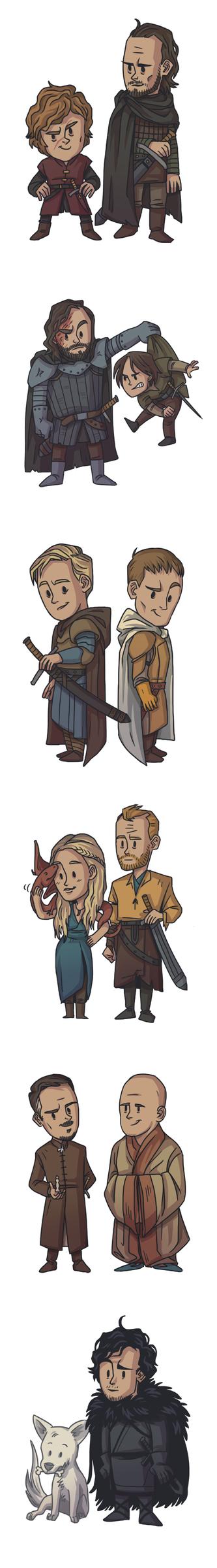 GOT Characters by ekzotik