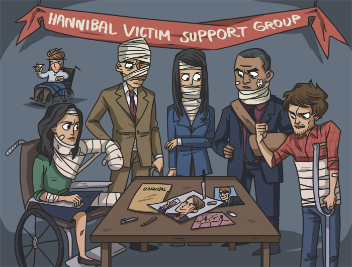 Hannibal Victim Support Group by ekzotik