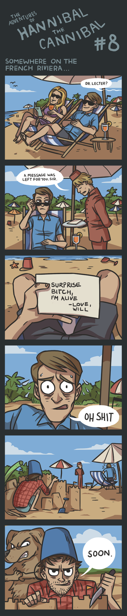 The Adventures of Hannibal the Cannibal #8 by ekzotik