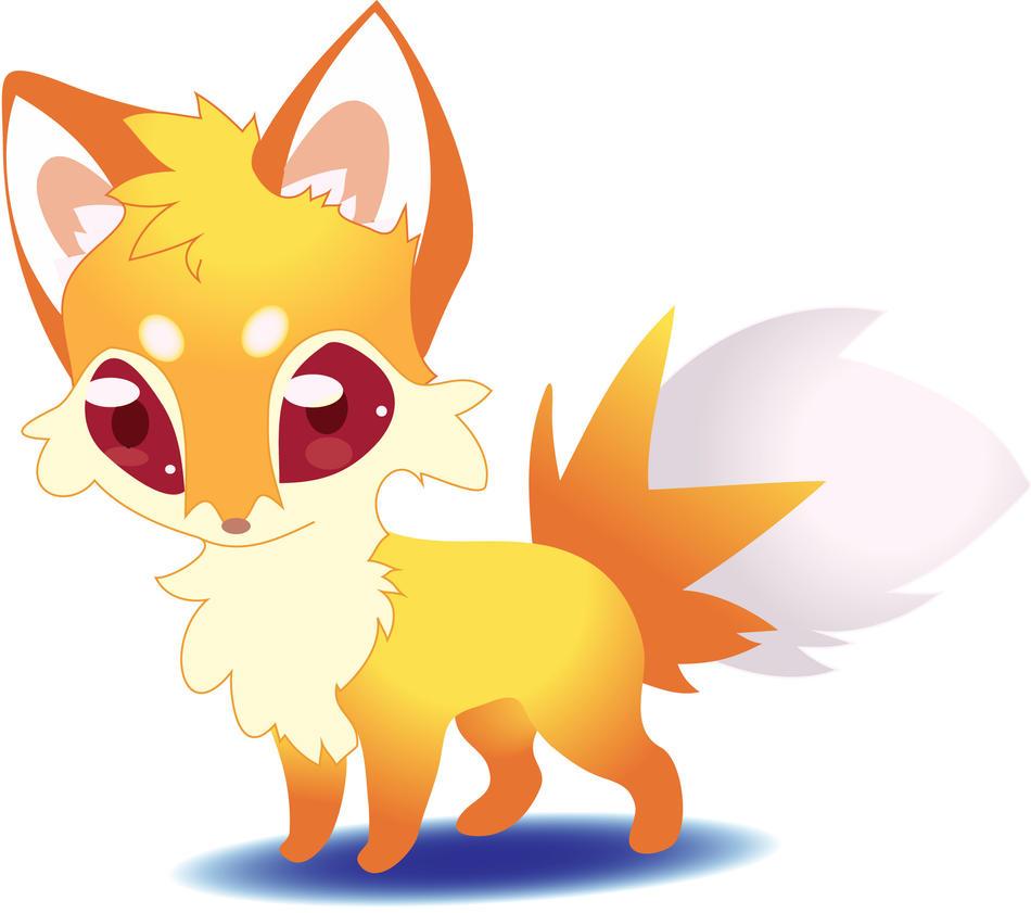 Cute Anime Chibi Fox Www Pixshark Com Images Galleries