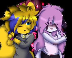 Best Friends(?)//Gift by NastyaLoli