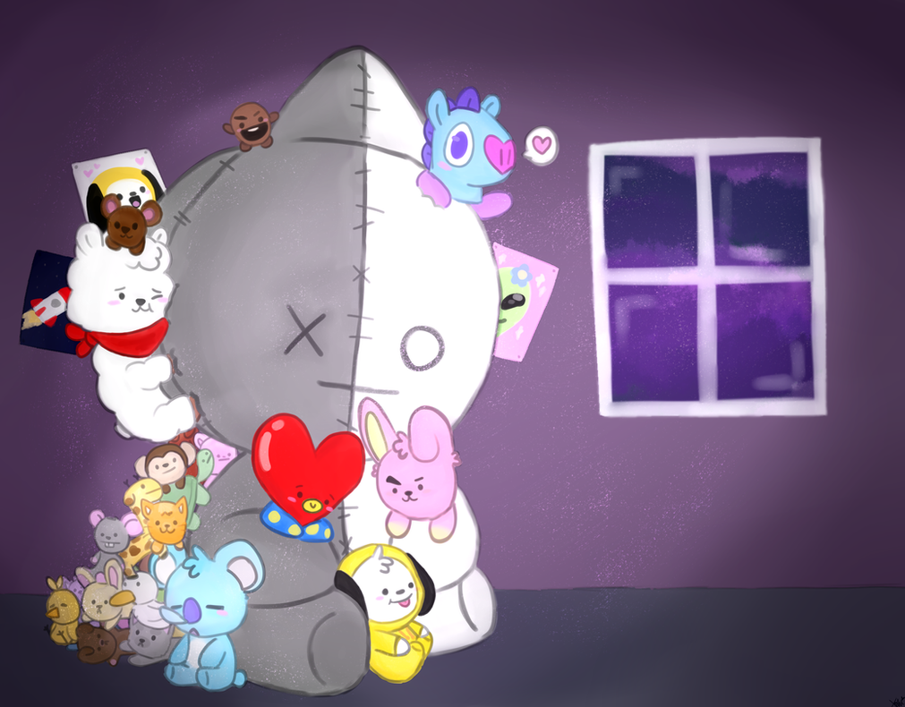 BT21 thing by JovialTrees