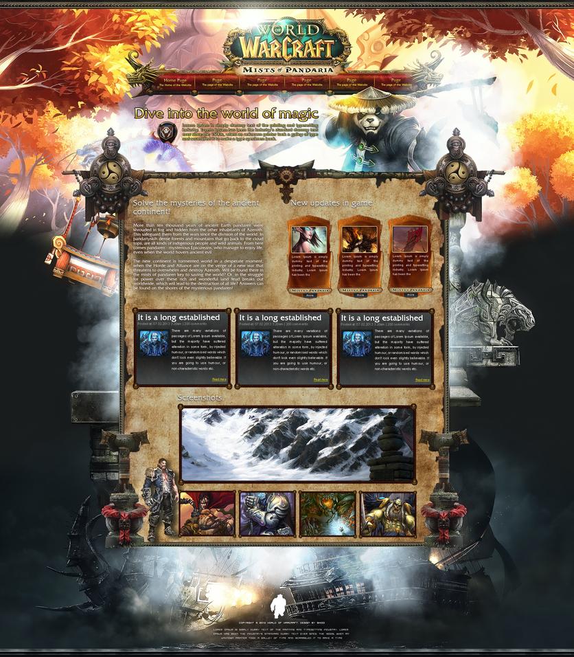 World Of Warcraft by Shizoy