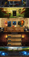 Landing Page - World of Warcraft ( Shop )