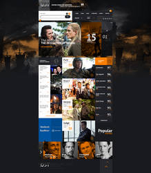 web design - LostFilms by Shizoy