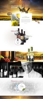 Web Design - Allan and Jebur Wine Company