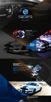 Landing Page - Ford Mustang ( concept )