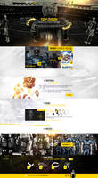 web design - NFL concept site by Shizoy