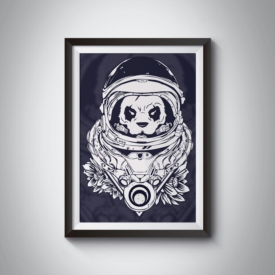 Space Panda by Shizoy