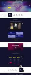 Vilox Company - Web Design by Shizoy