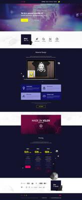 Vilox Company - Web Design
