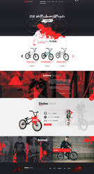 Animal Riders - Web Design