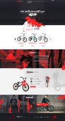 Animal Riders - Web Design by Shizoy