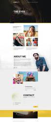 Photographer - Landing Page by Shizoy