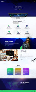 Gravity Studio - Web Design