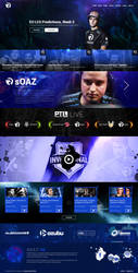 Concept Site - Team Origen by Shizoy