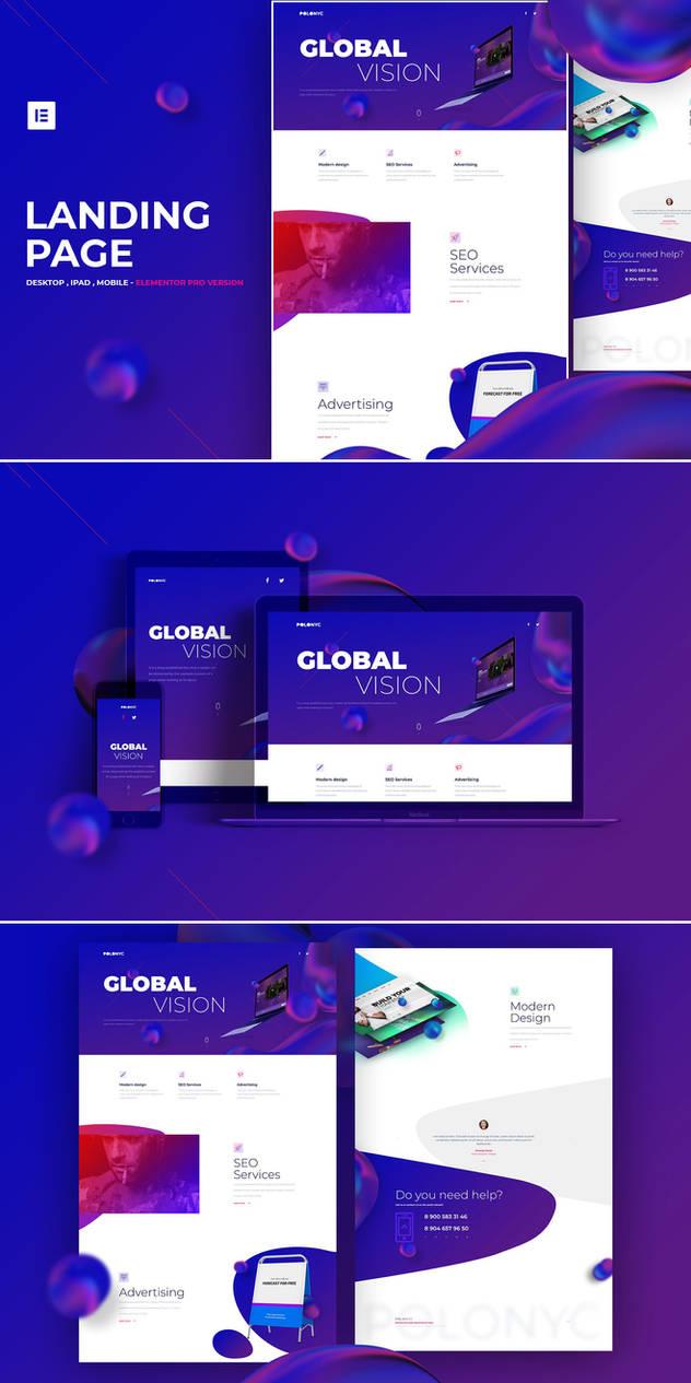 Design Studio - Elementor Pro Layout