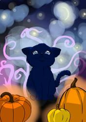 October Kitten by NinjaPenguinLover